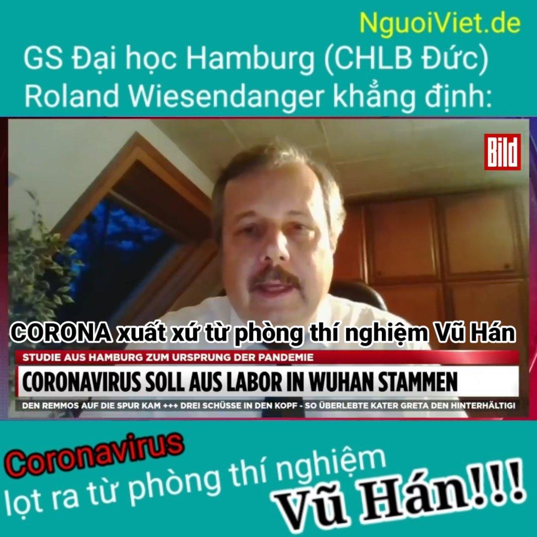 GS TS Roland Wiesendanger đang trả lời phỏng vấn của bild.de (hình trích từ clip của NguoiViet.de)